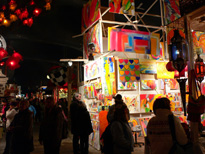 Tollwood festival in Munich