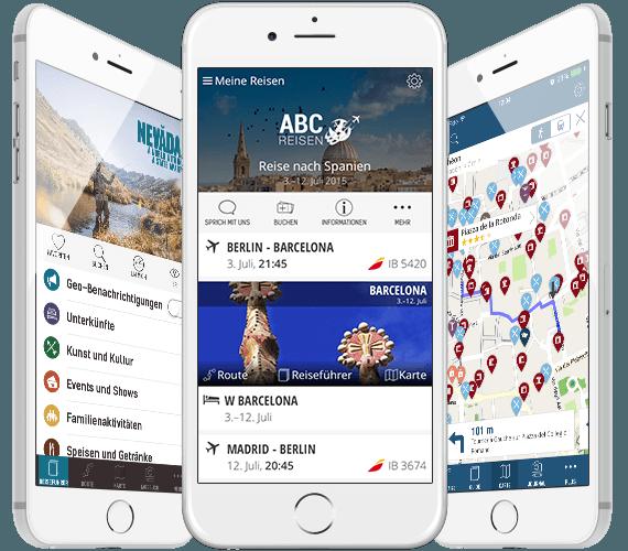 mTrip Mobile Apps für iOS und Android