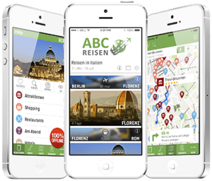 Mobile App für Tourenveranstalter und Reisebüros