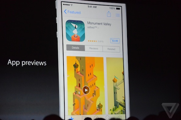 iOS 8 App Previews
