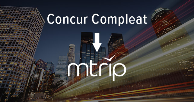 Concur Compleat > mTrip